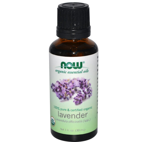 NOW Certified Organic Lavender Essential Oil - 1 oz