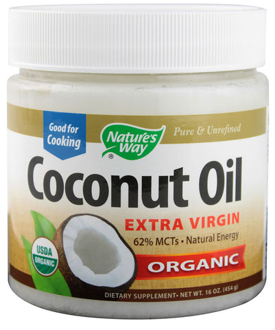 Nature's Way Organic Extra Virgin Coconut Oil - 16 Fl oz