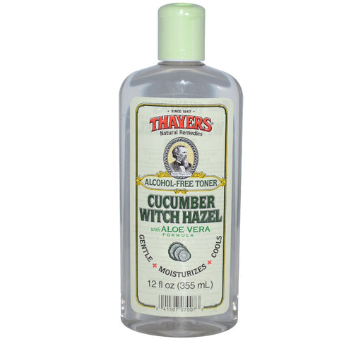 Thayers Alcohol-free Cucumber Witch hazel with Aloe Vera Toner - 12 oz