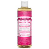 Dr. Bronners Rose Pure Castille Liquid Soap - 16 oz