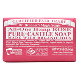 Dr. Bronners Rose Pure Castille Bar Soap - 5 oz
