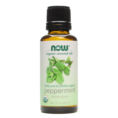 Now Foods Certified Organic Peppermint  Essential Oil - 1 oz