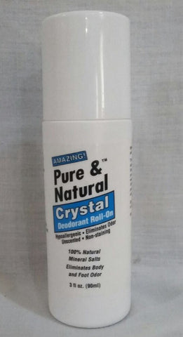 Pure & Natural Crystal Deodorant Roll-on