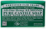 Dr. Bronners Almond Pure Castille Bar Soap - 5 oz