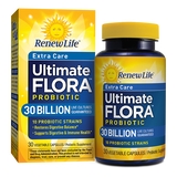 RenewLife Extra Care Ultimate FLORA Probiotic 30 Billion