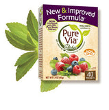 Pure Via  Stevia Sweetner - 40 packets
