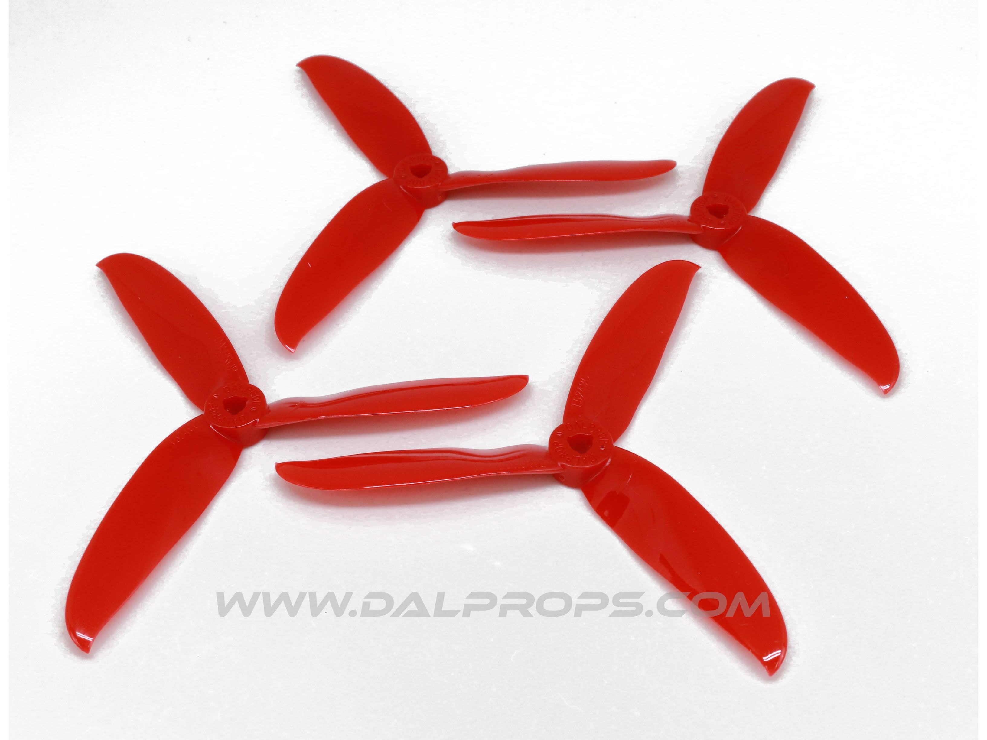 """White DALProp CYCLONE Series T5249C 5.2x4.9/"""" Tri-Blade Propellers"""