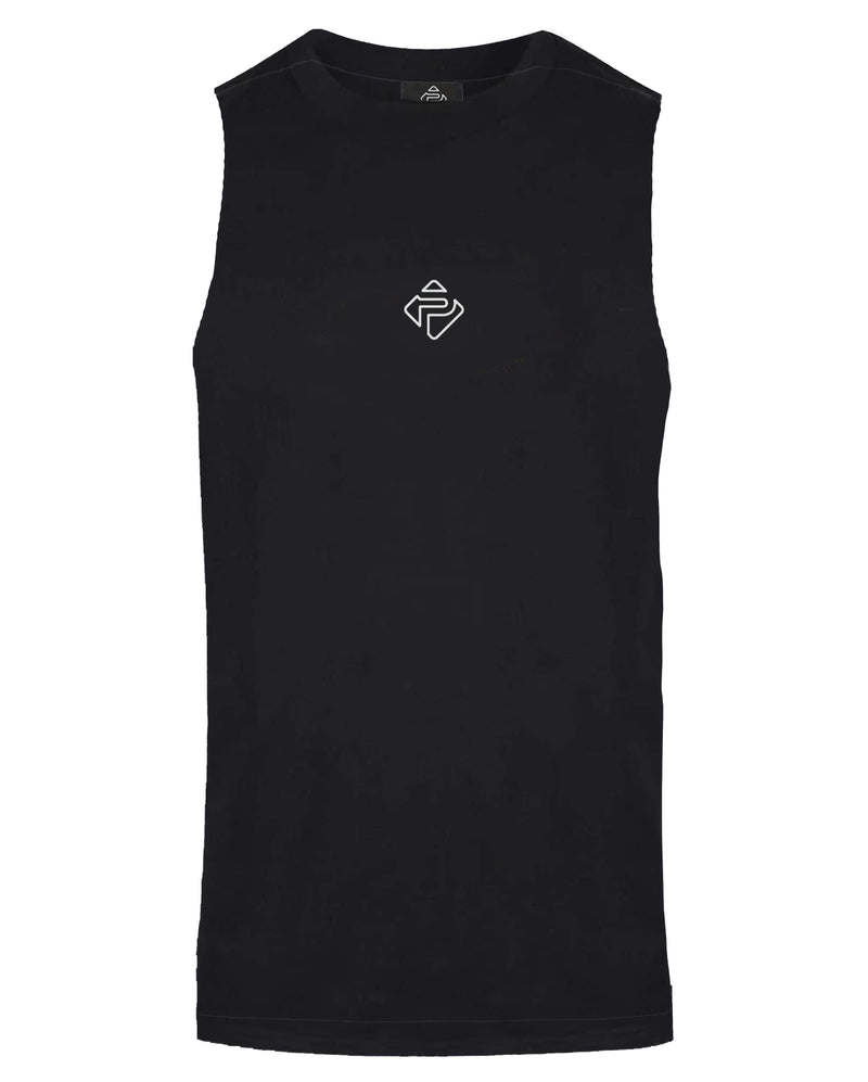 Essential Cut-Off Tank (Black)