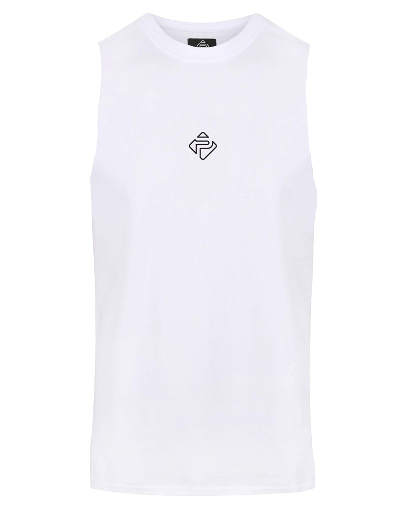 Essential Cut-Off Tank (White)
