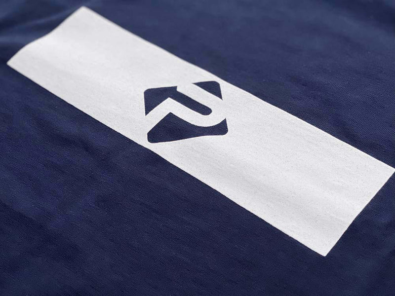 Block Logo T-Shirt (Navy)
