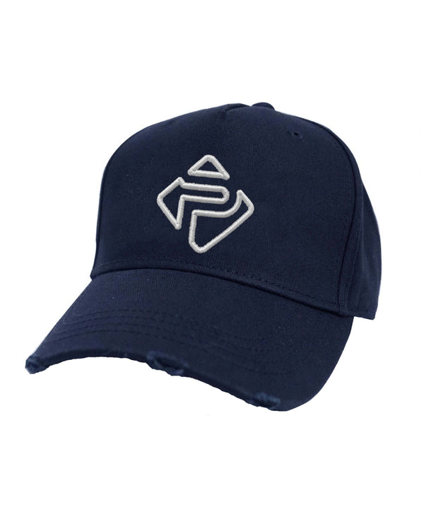 Essential Distressed Trucker (Navy)