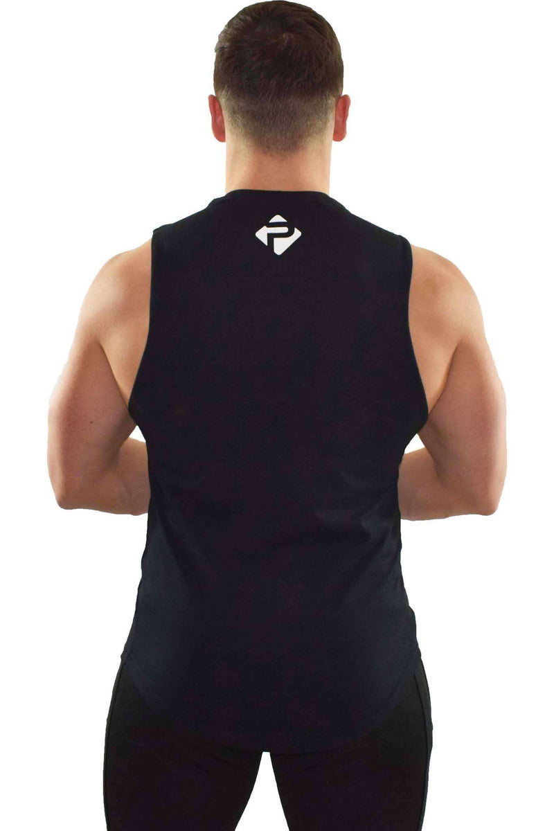 Statement Cut-Off Tank (Black)
