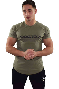 Progress Statement T-Shirt (Khaki)