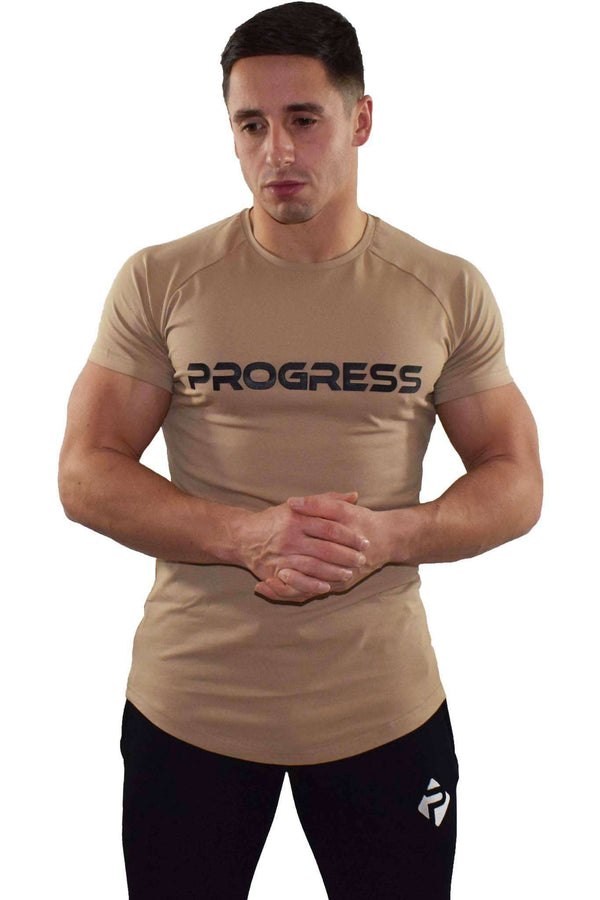 Progress Statement T-Shirt (Sand)