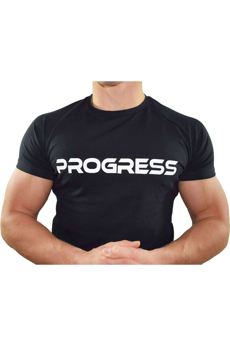 Progress Statement T-Shirt (Black)