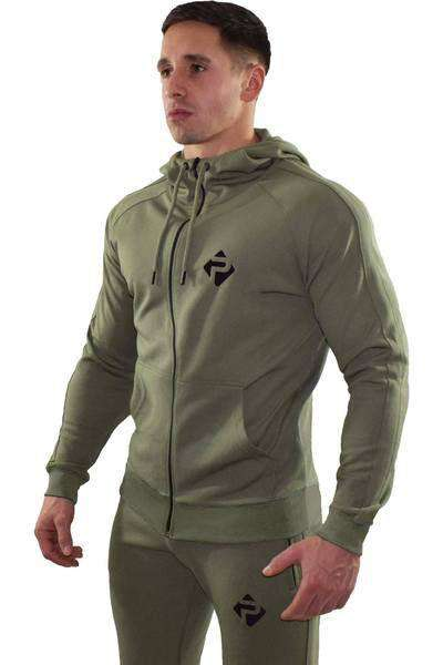 Progress Premium Poly Hoodie (Khaki)