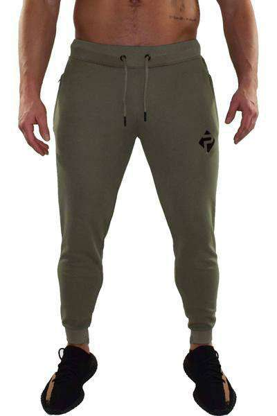 Progress Premium Poly Joggers (Khaki)
