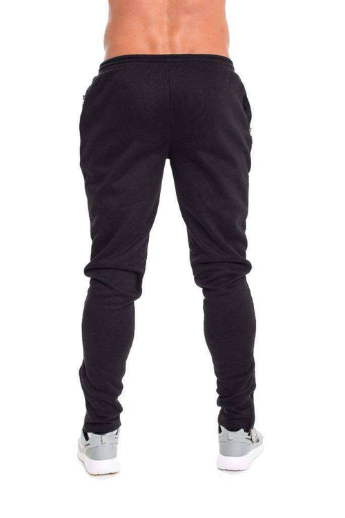 Bottoms - Progress Classic Tapered Joggers (Black)