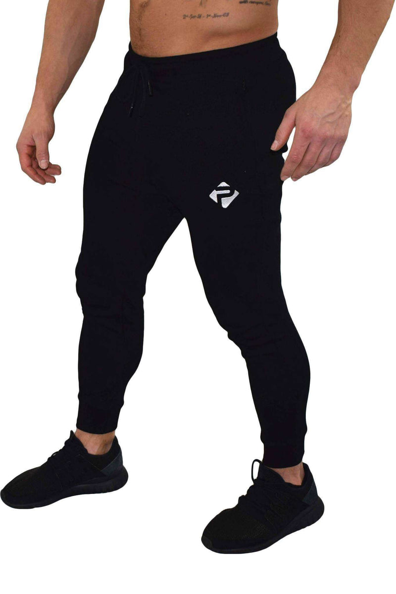Bottoms - Progress Icon Joggers (Black)