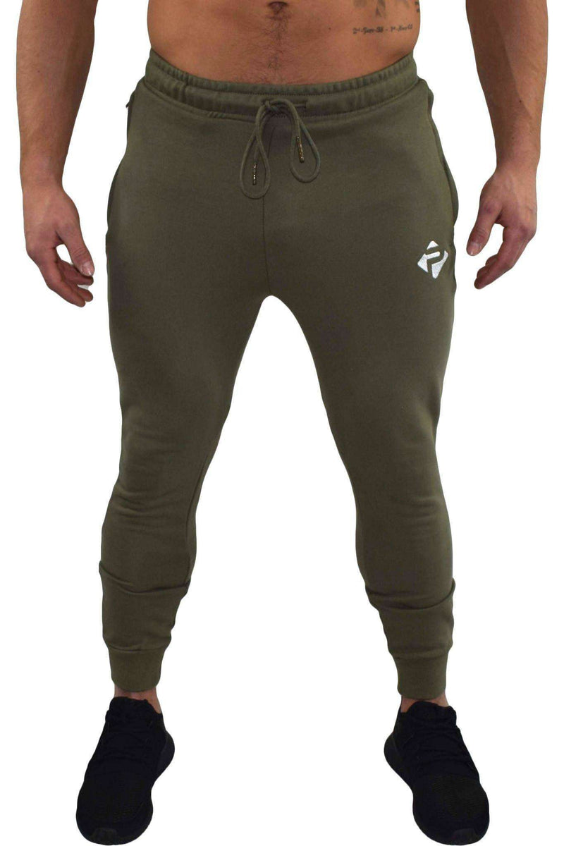 Bottoms - Progress Icon Joggers (Khaki)