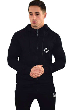 Hoodies - Progress Icon Hoodie (Black)