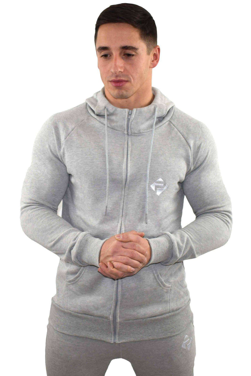 Hoodies - Progress Icon Hoodie (Grey)