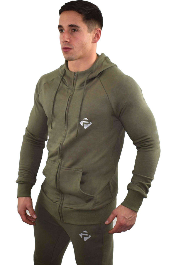 Hoodies - Progress Icon Hoodie (Khaki)