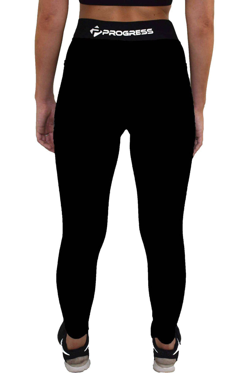 Leggings - Progress Ladies Essential Leggings (Black)