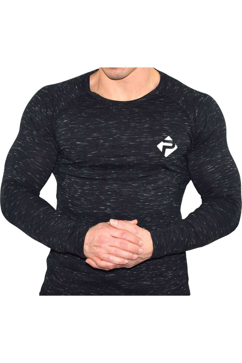 Long Sleeves - Progress Icon Long Sleeve (Black Slub)