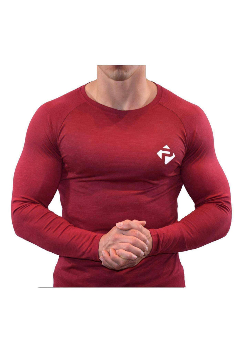 Icon Long Sleeve (Red Slub)
