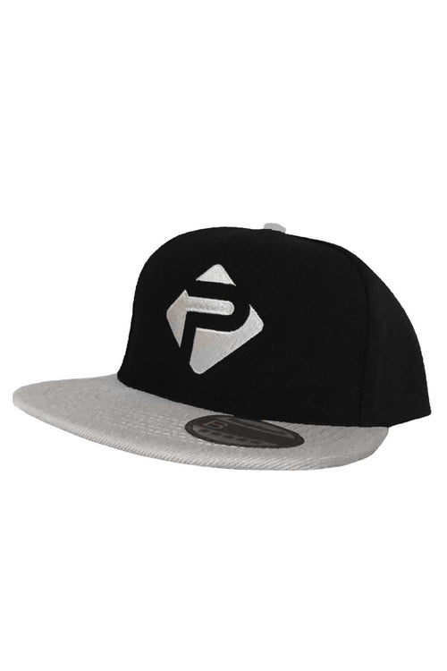 Snapbacks - Progress 'P' Snapback (Black & Grey)