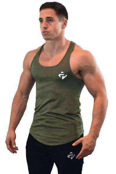 Icon Stringer (Khaki Slub)