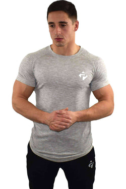 T-Shirts - Progress Icon T-Shirt (Grey Slub)