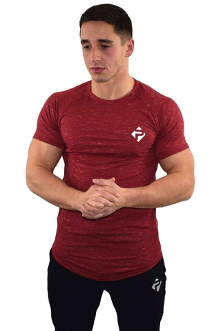 T-Shirts - Progress Icon T-Shirt (Red Slub)