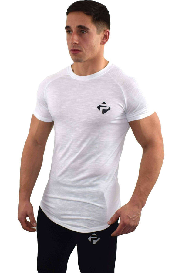 T-Shirts - Progress Icon T-Shirt (White Slub)