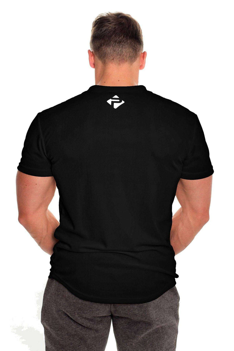 T-Shirts - Progress Performance T-Shirt - Small Logo (Black)