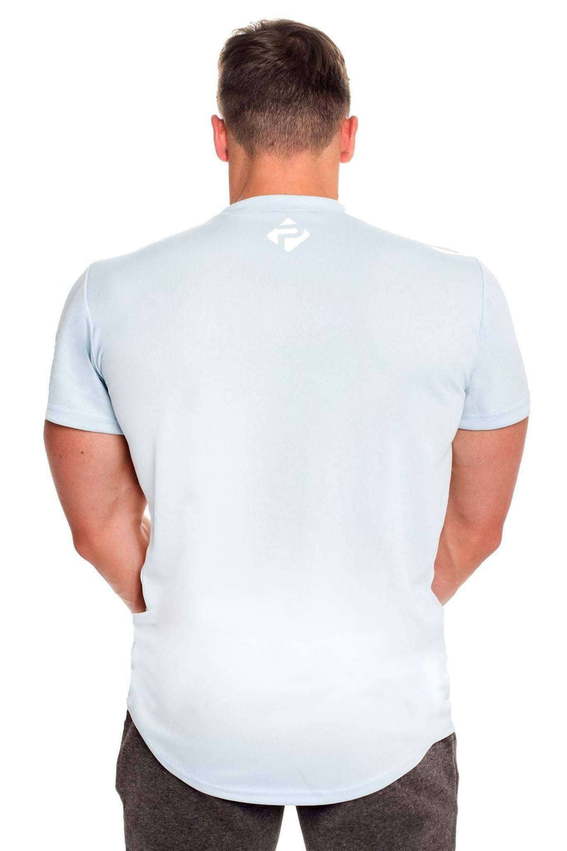 T-Shirts - Progress Performance T-Shirt - Small Logo (Cool Grey)