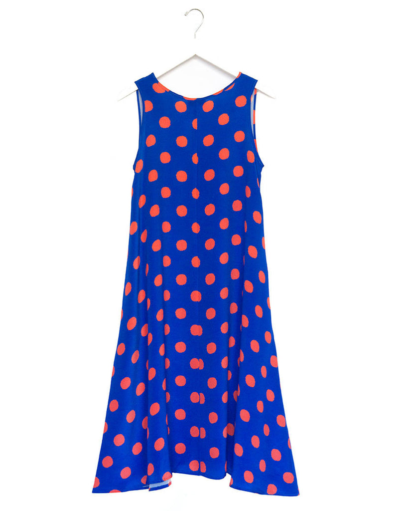Saku Printed Silk Dress