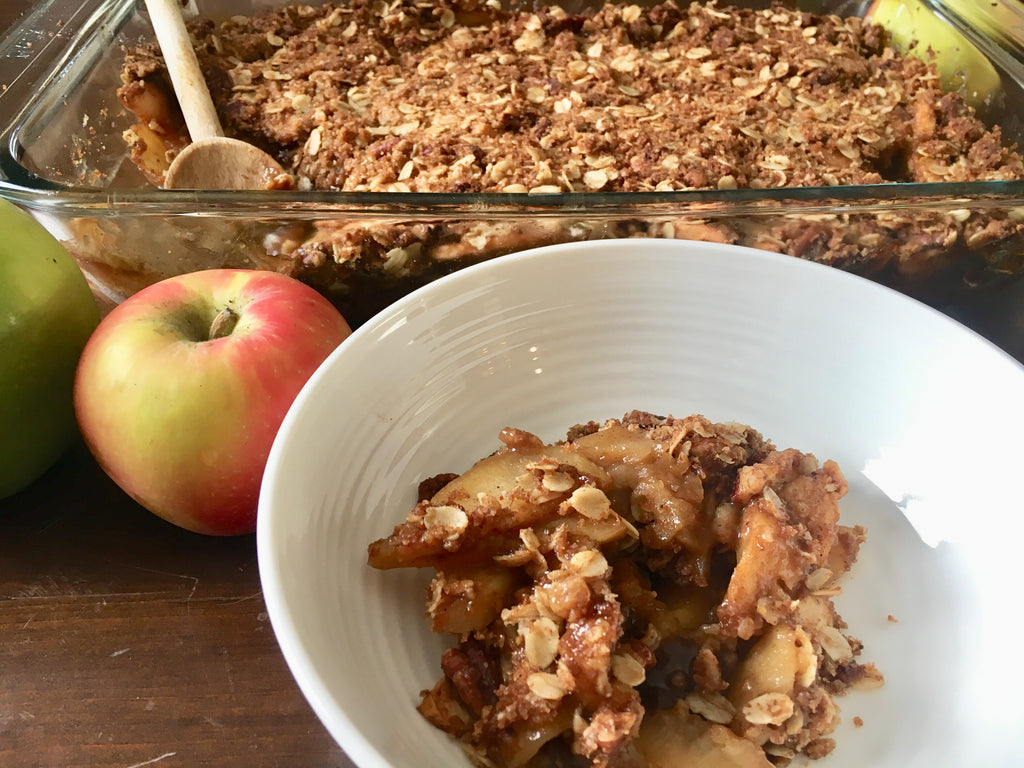 The best apple crisp you'll ever have.