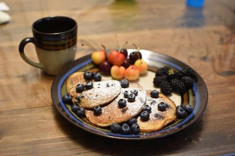 Gold Forest Grain's Blueberry Pancakes