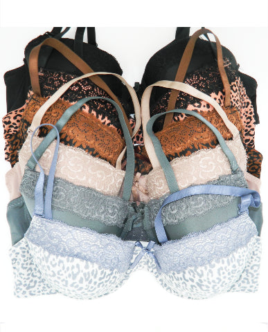 Jungle Love Underwire Demi Bras