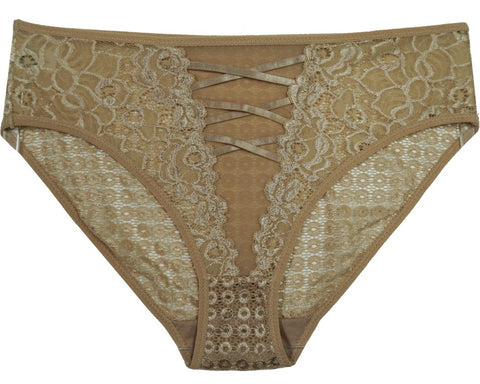 Old Hollywood Lace Bikini Panty