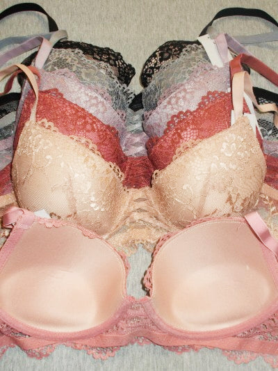 I Adore You Gentle Push-Up Lace Bras