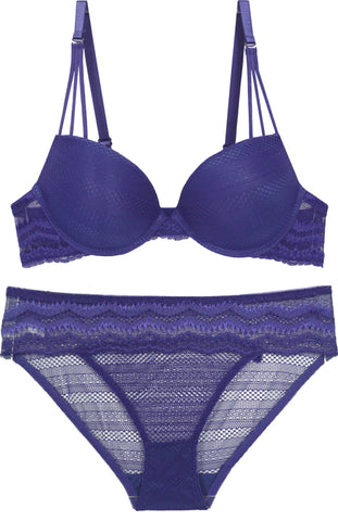 Bombay Beach Lace Bra and Panty Set