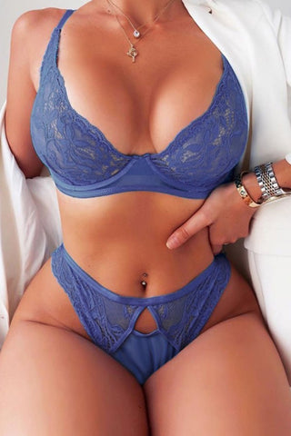 A Perfect View Balcony Bra and Panty Set