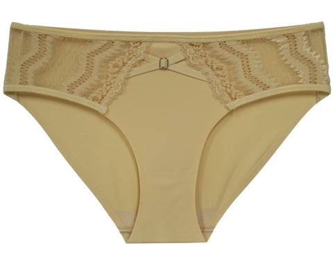 Fine As Wine Lace Panty - Yellow