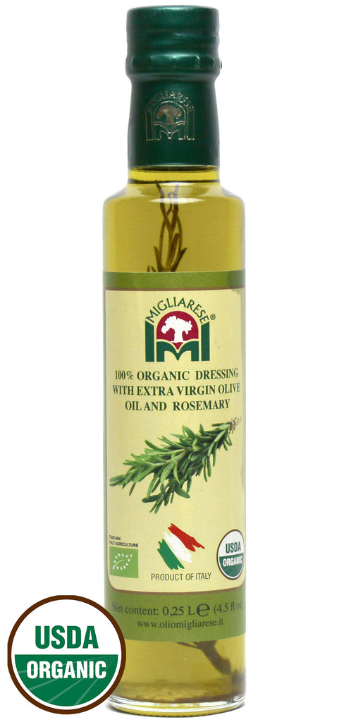 Migliarese Organic Rosemary Olive Oil (8.45 oz)