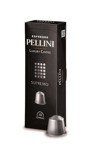 Pellini Top Nespresso Compatible Capsules (2 Pack 0.69/cap or 6 Pack 0.65/cap)