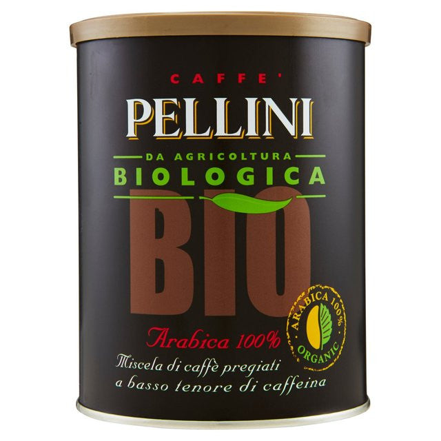 Pellini ORGANIC Top Ground 100% Arabica Bean - (.55 lb)