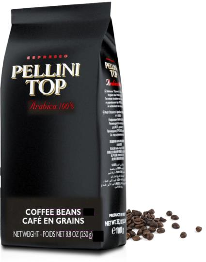 Pellini Top Whole Beans 100% Arabica Beans (6-pack) - 3.3 pounds